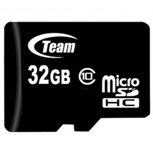Team 32GB Micro SDHC Class 10 Flash Card with Adapter