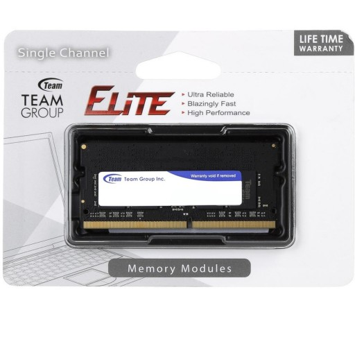Team Elite 8GB No Heatsink (1 x 8GB) DDR4 2400MHz SODIMM System Memory