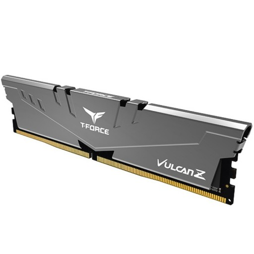 Team Vulcan Z 8GB Silver Heatsink (1 x 8GB) DDR4 3000MHz DIMM System Gaming Memory