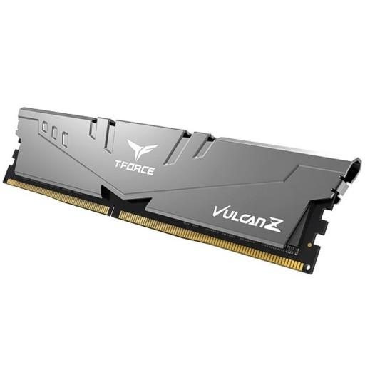 Team Vulcan Z 8GB Silver Heatsink (1 x 8GB) DDR4 3200MHz DIMM System Gaming Memory