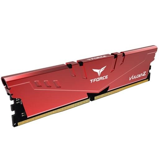 Team Vulcan Z 8GB Red Heatsink (1 x 8GB) DDR4 3000MHz DIMM System Gaming Memory