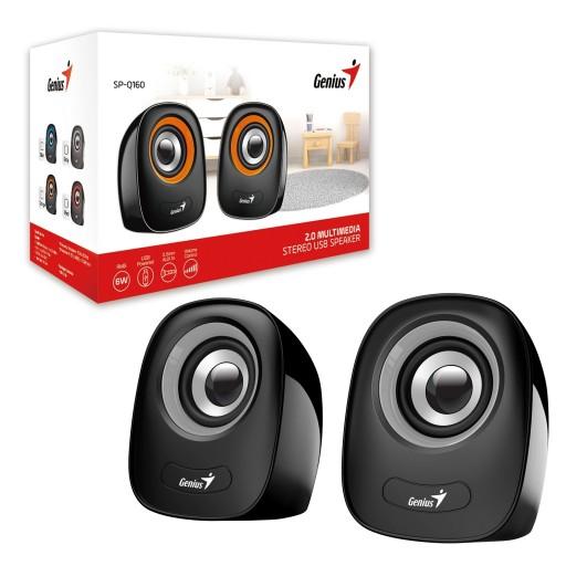 Genius SP-Q160 Iron Grey Stereo Speakers