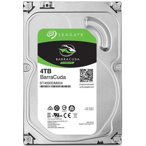 Seagate 4TB BarraCuda 3.5'' SATA HDD / Hard Disk Drive - ST4000DM004