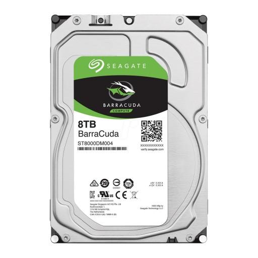 Seagate 8TB BarraCuda 3.5'' SATA HDD / Hard Drive