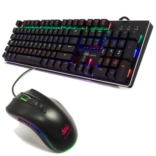 Sumvision Pantheon Mechanical Keyboard and Pantheon Gaming Mouse Bundle
