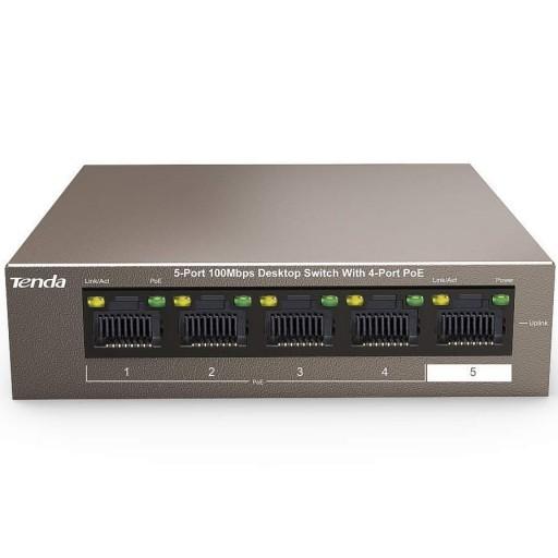 Tenda TEF1105P 5 Port PoE Ethernet Switch