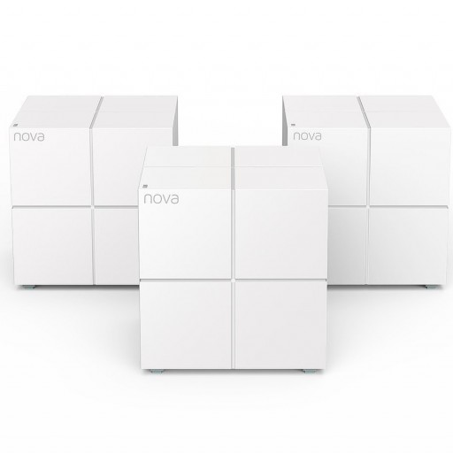 Tenda Nova MW6 Router / Whole Home Mesh WiFi System - Cover up to 6,000 sq. ft.