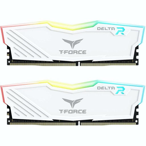 TeamGroup T-Force Delta RGB 16GB (2 x 8GB) 3600MHz DDR4 RAM - White