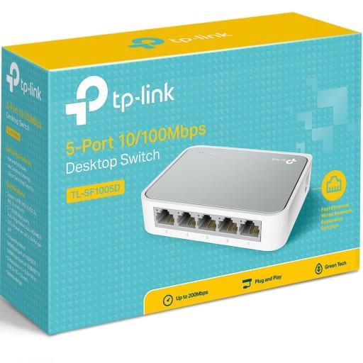 TP-Link TL-SF1005D 5-port Unmanaged Desktop Switch 10/100 RJ45 ports - TL-SF1005D V13