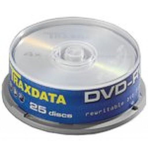 Traxdata Re-Writable 4x DVD-RW - 25 TUB