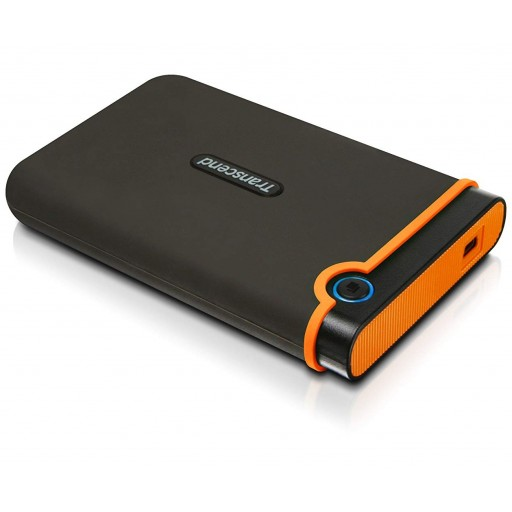 Transcend 750GB StoreJet Portable Shockproof External Hard Drive