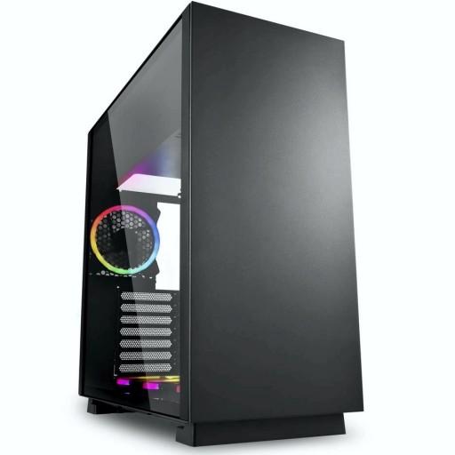 TechTribe Pure Steel Intel i5 9400F, 16GB DDR4, 1TB Hard Drive & 512GB M.2 SSD, Nvidia Geforce RTX 3060 Ti Graphics, Gaming Desktop - Win 10