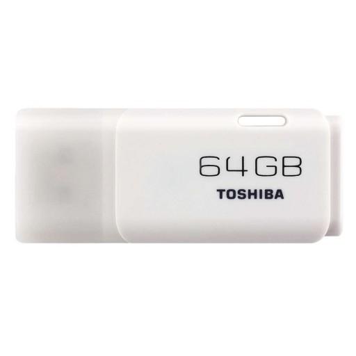 Toshiba THN-U202W0640E4 64GB TransMemory U202 USB Flash Drive - White