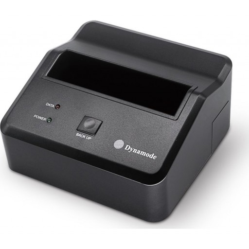 """Dynamode USB 2.5""""/3.5"""" SATA HDD Docking Station with One Touch Back-Up Button"""