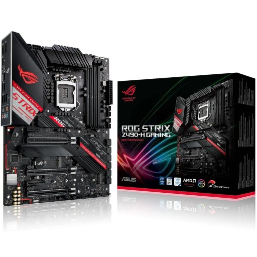 ASUS Intel Z490 ROG STRIX Z490-H GAMING LGA1200 ATX Motherboard