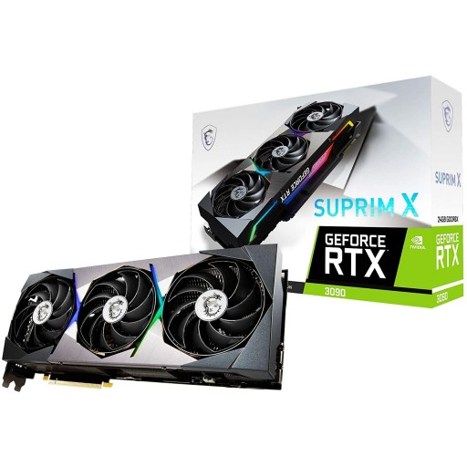 MSI NVIDIA GeForce RTX 3090 24GB SUPRIM X Ampere Graphics Card