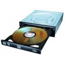 LiteOn 24x SATA DVDRW HH Internal Multi Format BLACK OEM Drive - IHAS124-14