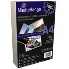MediaRange MRINK106 2880dpi A4 Laser Matte Coated 120gsm Photo Paper - 100 SHEETS
