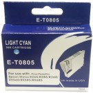 Epson NEW BLUE BOXED E-T0805-V.4 Compatible Ink Cartridge (LIGHT CYAN) - R265, R285, R360, RX's etc.