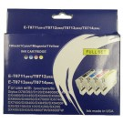 Epson D, DX, S, SX and BX Series Ink Sets - 4 Cartridges 711, 712, 713, 714