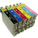 Compatible Epson T481 - T486 Ink Cartridge Set - 6 Inks - R200, R220 etc.