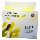 Epson E-1814 YELLOW Cartridge Ink for Expression Home XP-102,202,205,305,402,405
