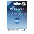 MediaRange MR964 SDHC 32GB Memory Card Class 10