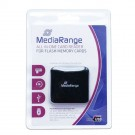MediaRange USB 2.0 All-in-One Flash Card Reader - MRCS501