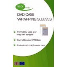 Neo Clear 14mm DVD Case Wrapping Sleeve - 200 PACK