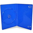 Single BLUE Standard DVD 14mm Storage Cases - 10 BOX