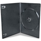 SUPER SLIMLINE 7mm Single BLACK DVD Storage Cases - 15 BOX