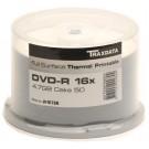 Traxdata Ritek Full Face THERMAL Printable 16x DVD-R in 50 TUB