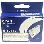 Epson E-T0 712 Compatible Ink Cartridge - CYAN