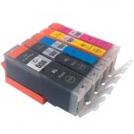 Quality Compatible Canon PGI-550XL + CLI-551XL Set of 5 Ink Multipack