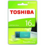 Toshiba 16GB TransMemory U202 USB Flash Drive in Aqua - THN-U202L0160E4