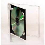 DOUBLE CD/DVD Jewel Case (BLACK INSERT) - 25 BOX