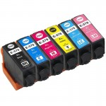 Set of Compatible High Capacity Epson 378XL Ink Cartridges - Squirrel Inks