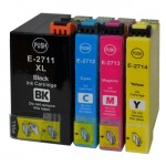 Quality Compatible Epson 27XL Ink Cartridge Colour Multipack - Clock - T2715