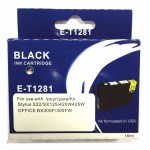 Epson T1281 BLACK Ink Cartridge with HUGE 16ml ink - for BX305F/FW, S22, SX125, SX420w, SX425W