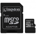Kingston SDCS/16GB SDCS 16GB Micro SD Canvas Class10 UHS-I Memory Card