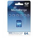 MediaRange MR965 SDXC 64GB Memory Card Class 10