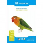 Mirror 210gsm 6x4 HIGH GLOSS Resin Coated Photo Inkjet Cards - 50 PACK