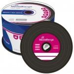 MediaRange Vinyl Look CD-R with BLACK Dye - 50 TUB - MR225