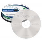 MediaRange MR450 Re-Writable 4x DVD-RW - 10 TUB
