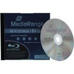 MediaRange MR498 BD-R 25GB 6x in Jewelcase - EACH