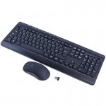Sumvision Paradox 6 Wireless 2.4G Keyboard and Mouse Combo Set - Black