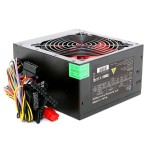 Ace 850w Black PSU with 12cm Red Cooling Fan