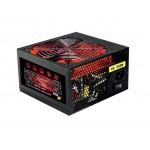 Ace 500W Black PSU with 12cm Red Fan - Power Supply