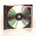 SINGLE CD/DVD Jewel Case (BLACK INSERT) - 25 PACK