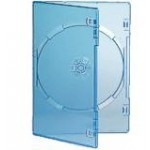 Single CLEAR Standard DVD 14mm Storage Cases - 10 BOX